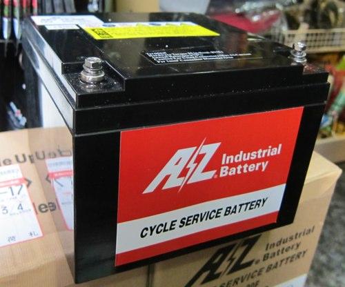 AZバッテリー SEV12-20F(魚探用高性能12V20AhAGMディープサイクルMFバッテリー)